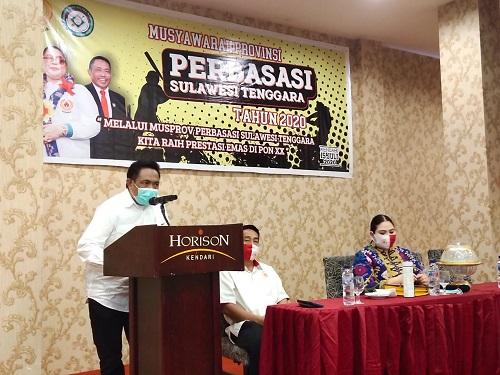 Pahri Yamsul Ketua Perbasasi Sultra