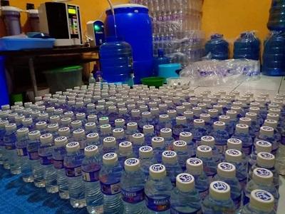 Produk Kangen Water. Foto. Istimewah