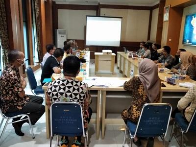 Rapat Perdana Biro Pembangunan