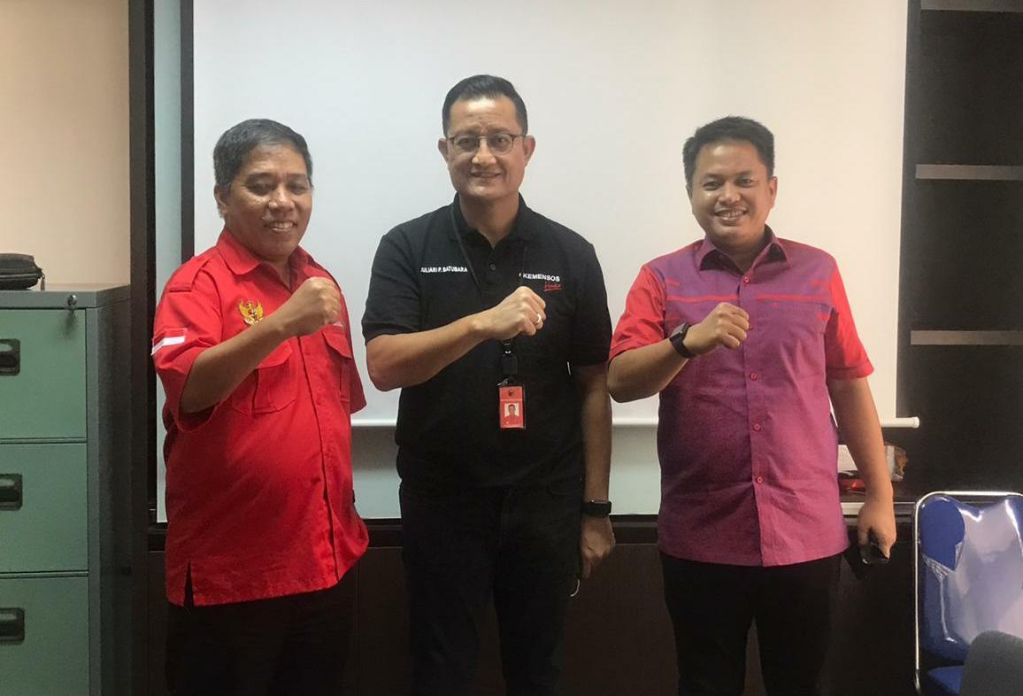 Rusmin Senawan dan Wakil Bendahara DPP PDIP