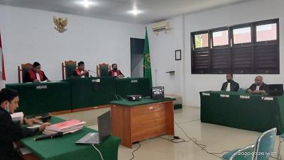 Sidang Perkara PT NBP, di Pengadilan Negeri Konawe