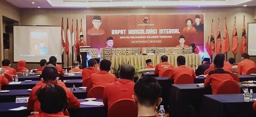 Suasana Rapat Koordinasi Internal PDIP