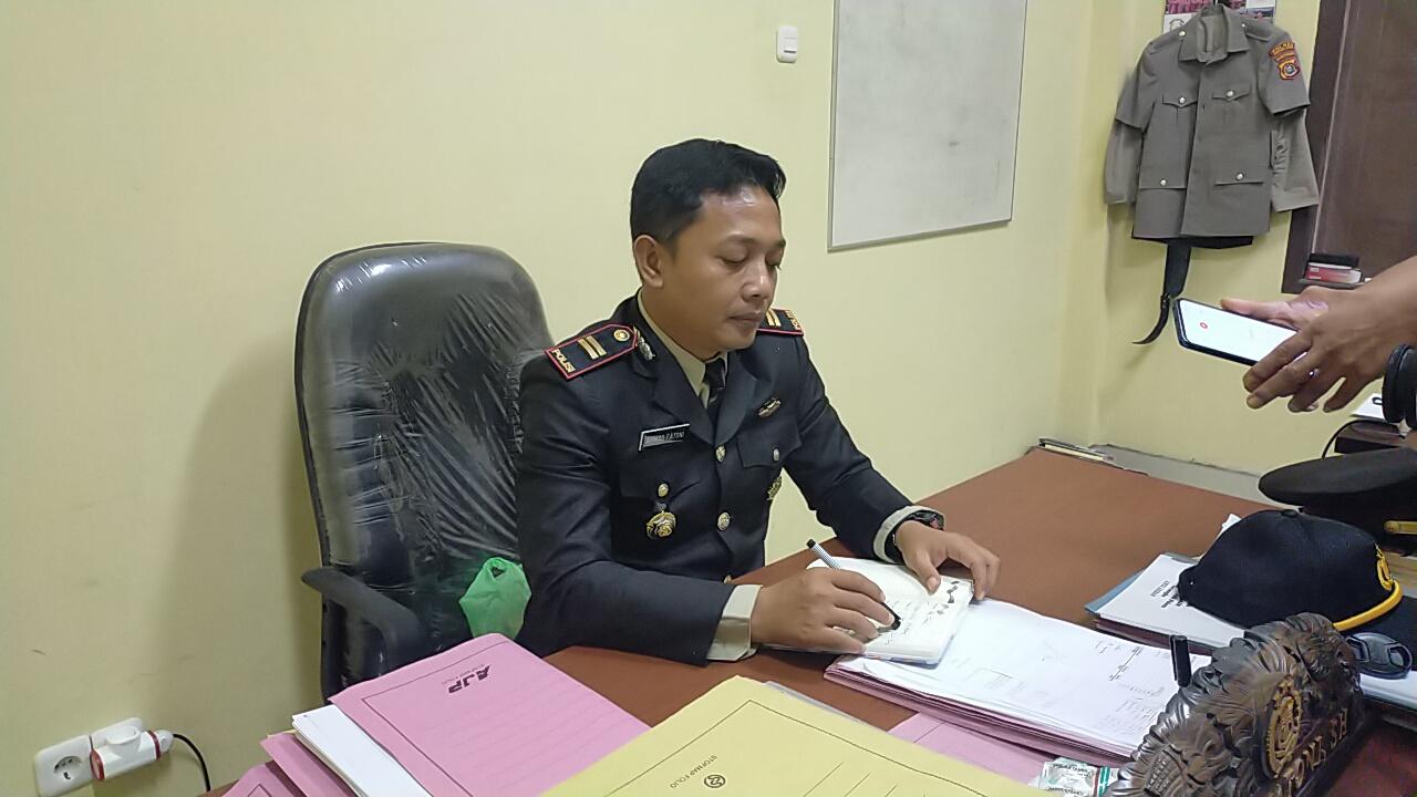 Ahmad Fatoni,SH Kasat Reskrim Polres Kolaka Utara (foto : Pendi)