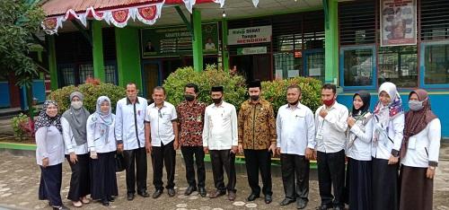Foto bersam KA Kanwil Kemenang Sultra