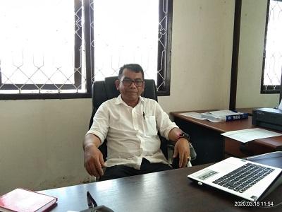 Kepala BKPP Mubar