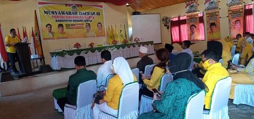 Ketua DPD Gokar Sultra Herry Asiku