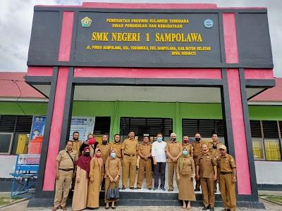 Kunjungan Kerja Tim Dinas Pendidikan dan Kebudayaan Sultra