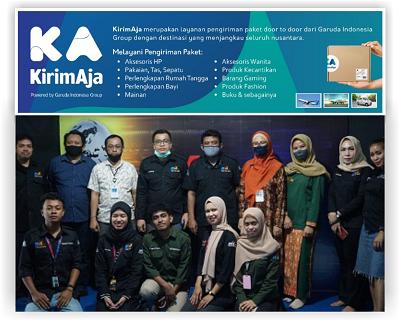 PT Garuda Indonesia cab Kendari dan PT Kendari Mediatama Group