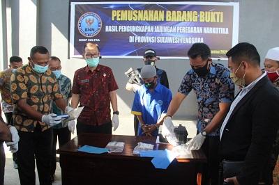 Badan Nasional Narkotika Provinsi (BNNP) Sulawesi Tenggara