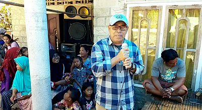 Ketua Tim Relawan Pemenangan Haliana-Ilmiati