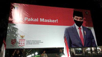 Baliho Presiden RI Joko Widodo (Jokowi)