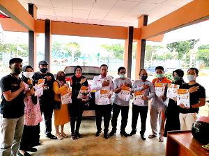 Foto bersama Anggota Komisioner KPU Konsel