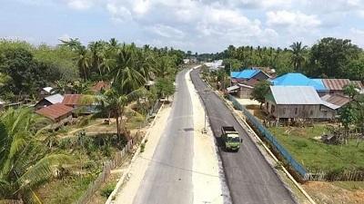 Jalan Ringroad Kota Laworo, Muna Barat.