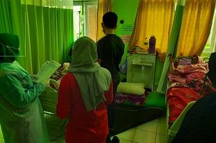 Polsek Abeli dan Pusat Kesehatan Masyarakat (Puskesmas)