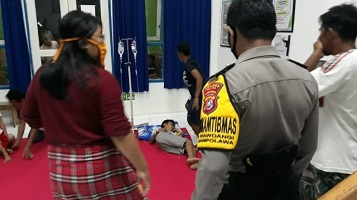 25 orang warga di Kecamatan Sampolawa, Kabupaten Buton Selatan
