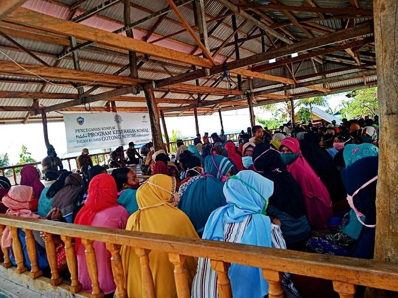 Forum Keserasian Sosial Desa Lontoi Kecamatan Siompu Kabupaten Buton Selatan