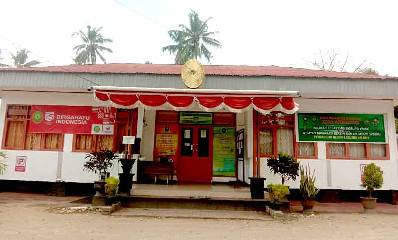 Kantor Pengadilan Negeri (PN) Lasusua kabupaten Kolaka Utara